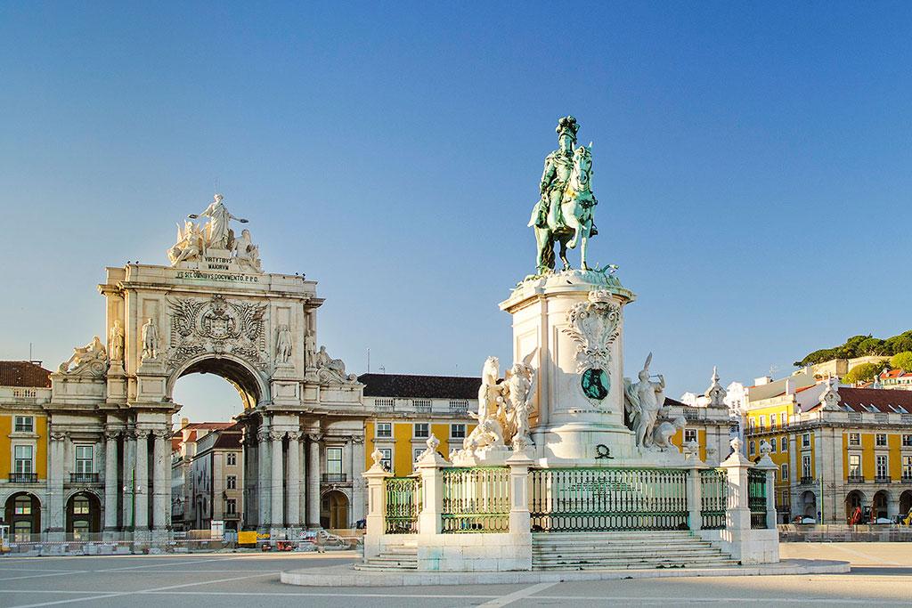 Lisbon Praça do Comercio